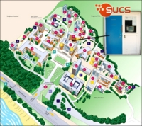 Location of SUCS Room on Campus Map