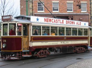 An old Gateshead tram