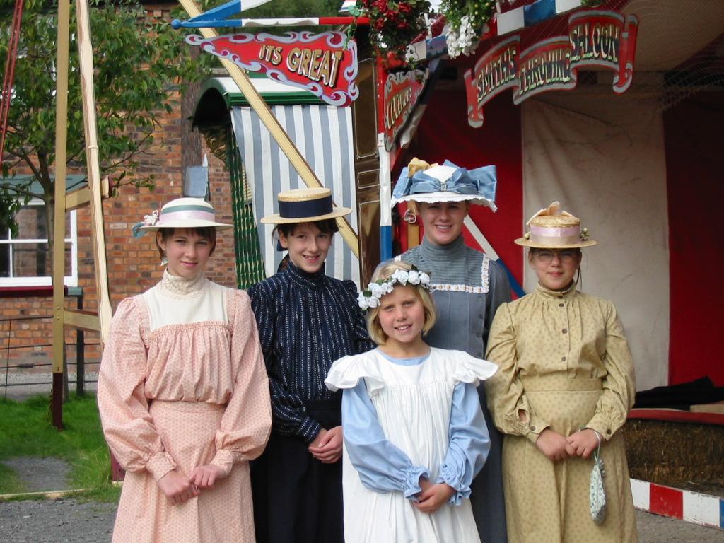 kids costume - Modern Victorian Wedding Dress