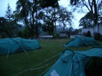 The Kibo camp site at dusk
