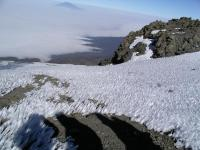 Ice on the plateau