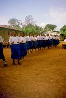 Line danceing, africa style