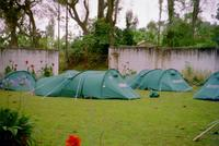 Campsite at the Kibo